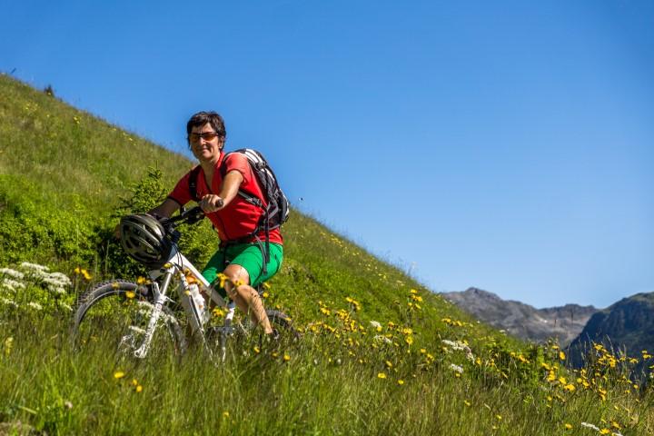 Biken und Wandern in Vorarlberg