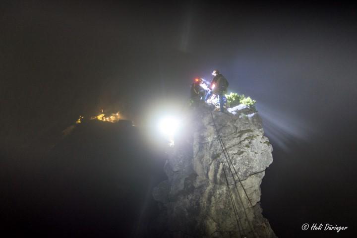 Erste Hilfe im steilen Fels