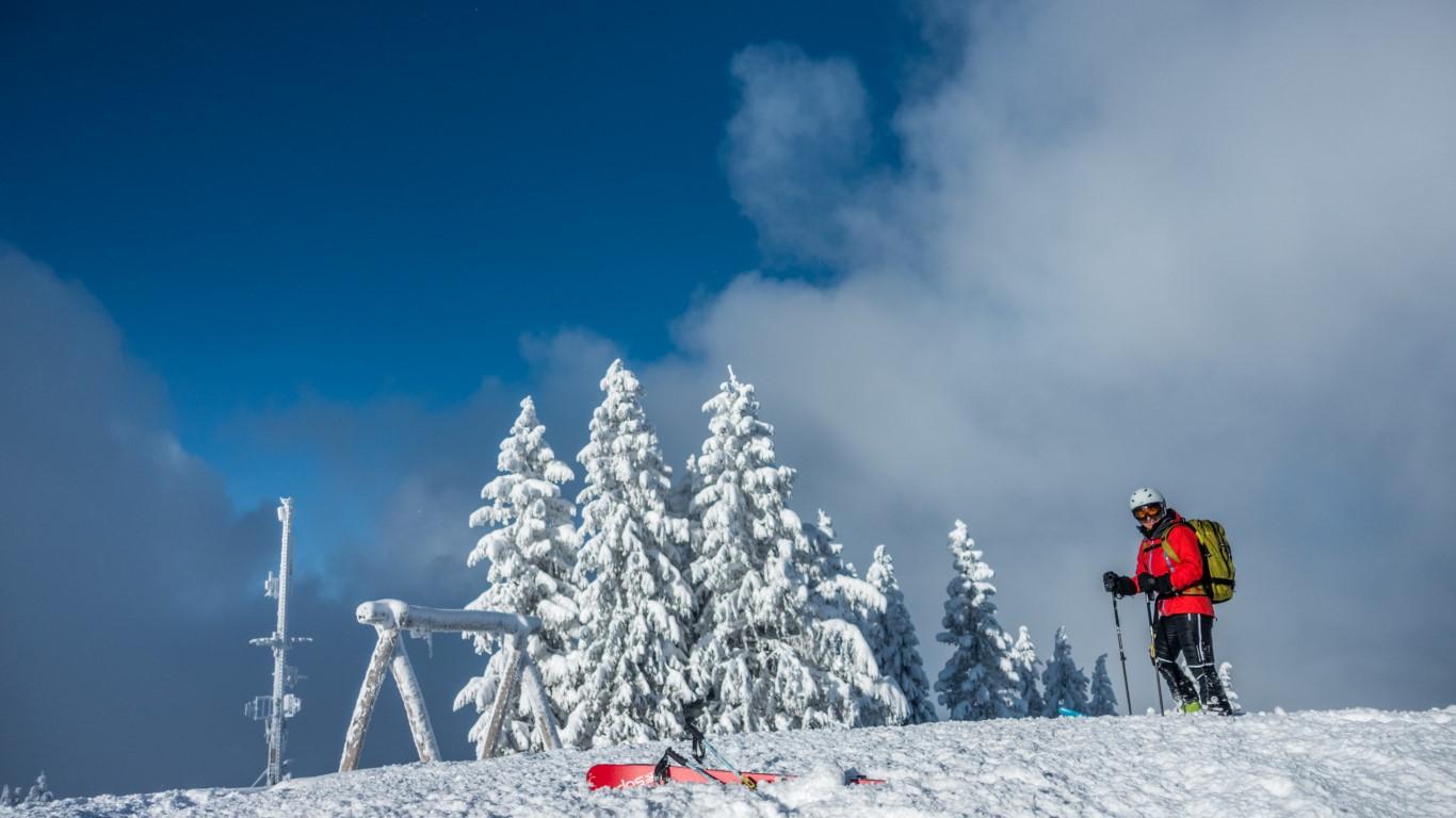 Tiefer Winter im Bregenzerwald