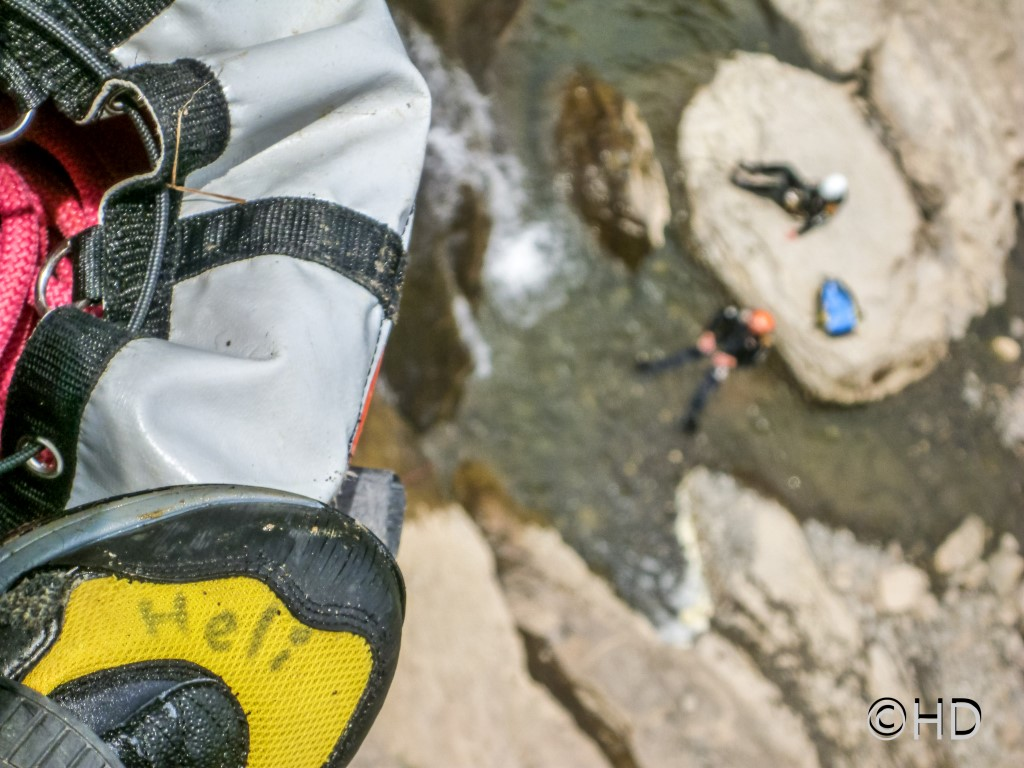 Waterworld Canyoning im Bregenzerwald