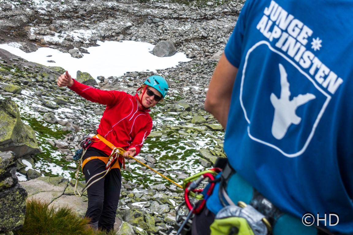 Junge Alpinisten Hochtouren