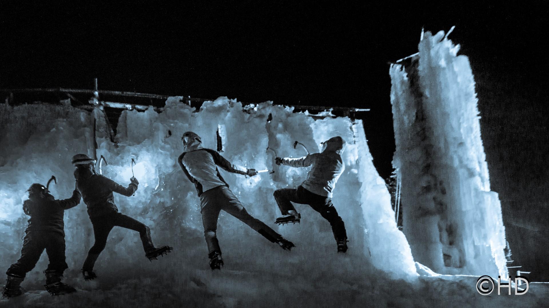 """Junge AlpinistenInnen """"Feuer & Eis"""""""