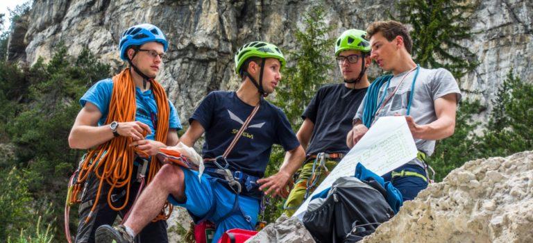 Projekt Junge Alpinisten vom Alpenverein