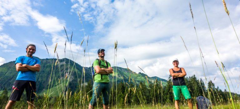 Alpine Wanderungen in Vorarlberg